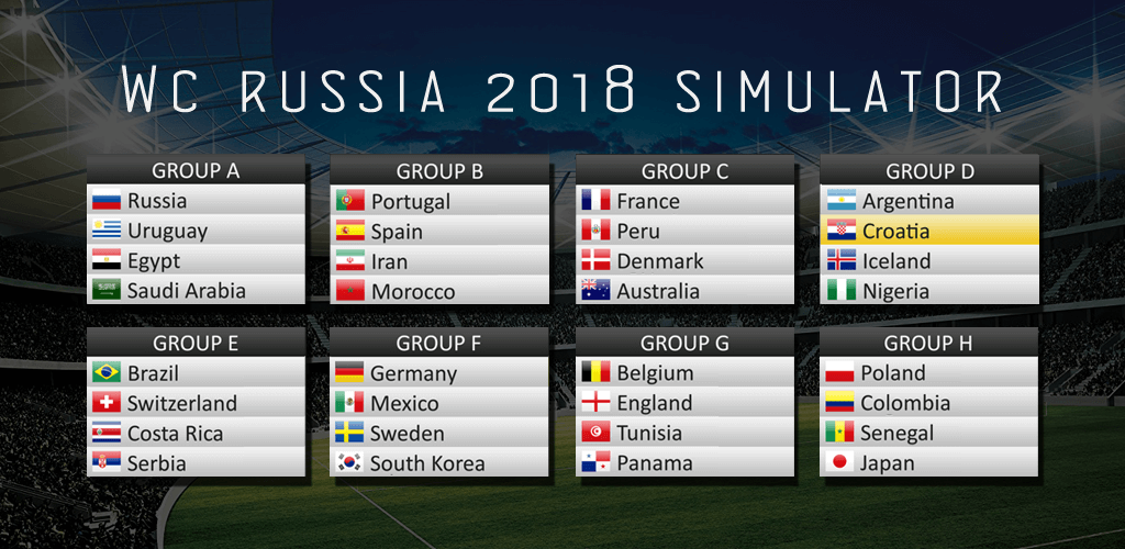 WC Russia 2018 Simulator Cover Photo